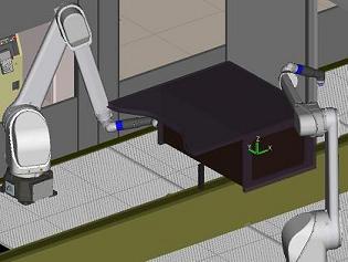ABB FANUC Paint Robot Program Conversion
